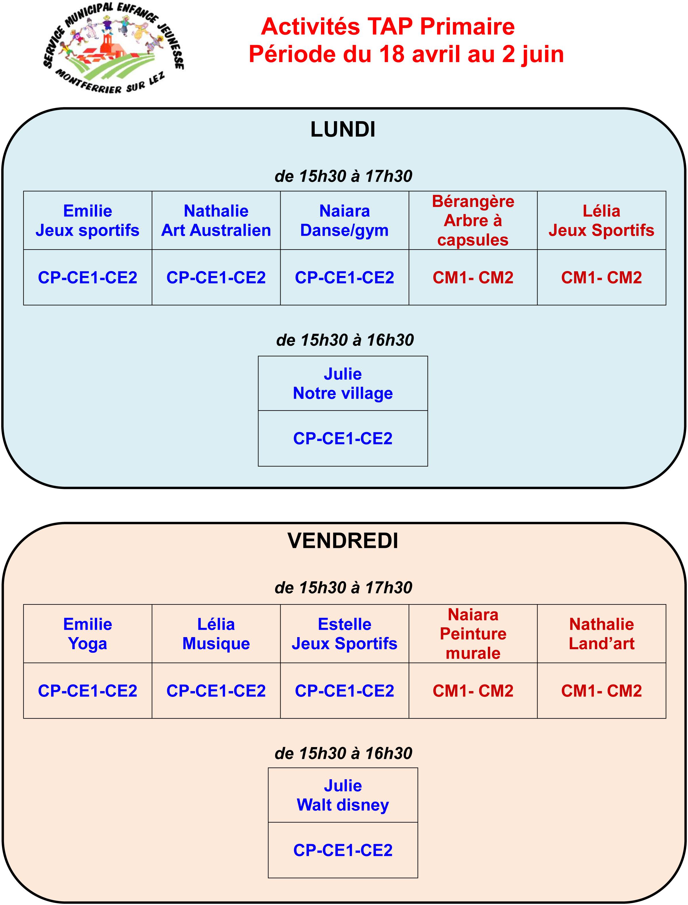 Célèbre Activités Périscolaires – Montferrier sur Lez NR26