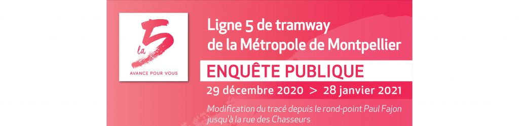 Ligne 5 Du Tramway Enquete Publique Sur Modification De Trace En Partie Ouest Montferrier Sur Lez