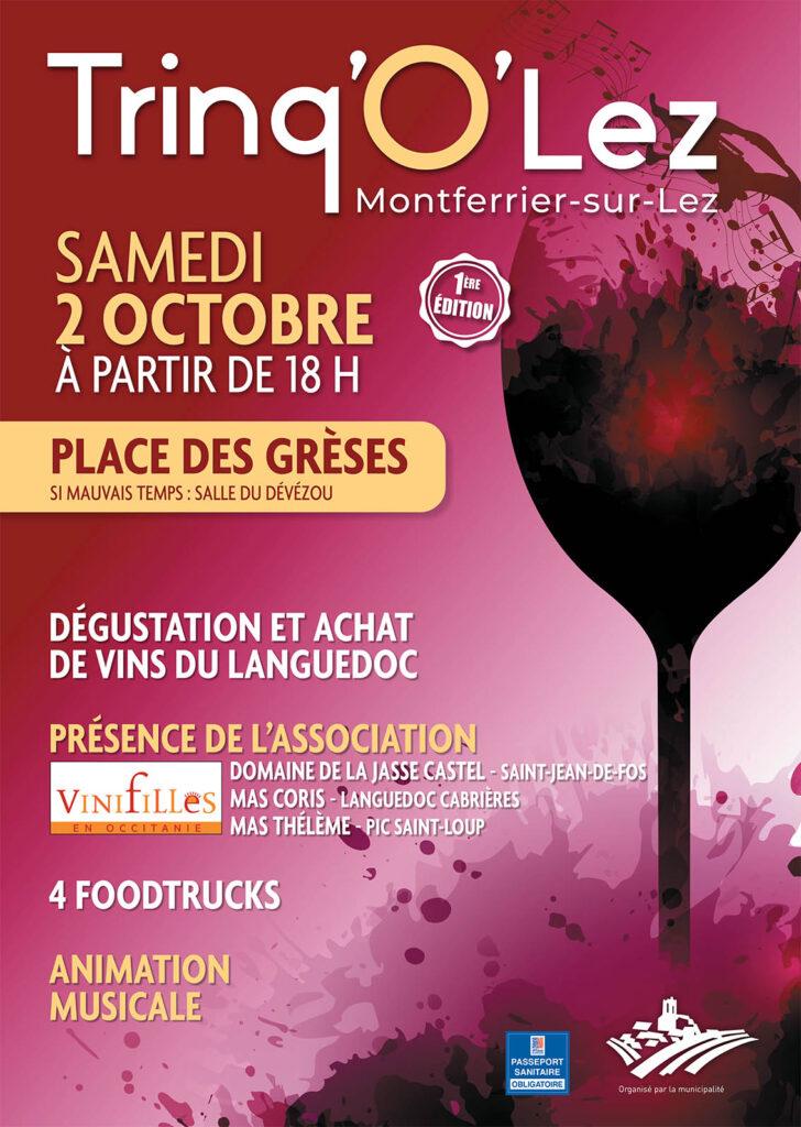 Trinq'O'Lez à Montferrier-sur-Lez - samedi 2 octobre